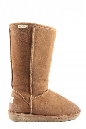 Bearpaw Botines slouch marrón look casual