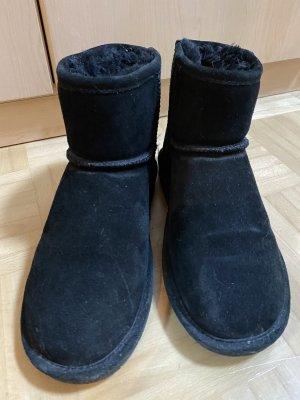 Bearpaw Futrzane buty czarny