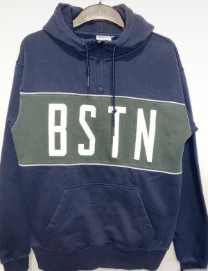 Beastin' Capuchon sweater donkerblauw
