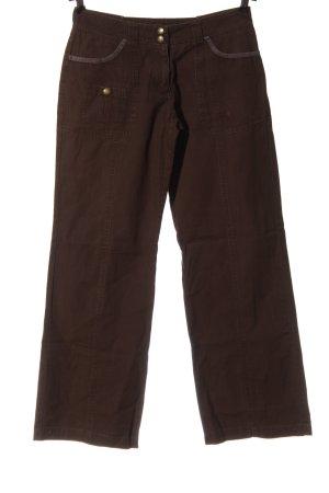beat wear Spodnie biodrówki brązowy W stylu casual