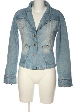 beat wear Jeansjacke blau Casual-Look