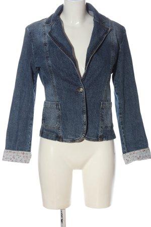 beat wear Jeansowa kurtka niebieski W stylu casual