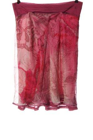 Beate Heymann Klokrok roze abstract patroon elegant