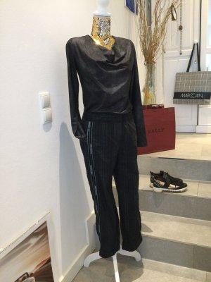 Beate Heymann Streetcouture Spodnie materiałowe ciemnoszary-czarny