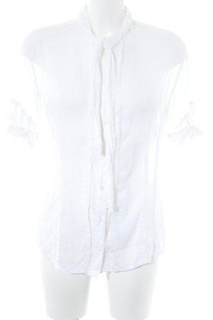 Beate Heymann Camicetta a maniche corte bianco stile casual