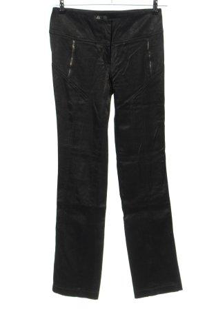 Beate Heymann Pantalone jersey nero stile casual