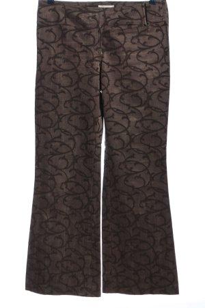 Beate Heymann Stoffen broek bruin prints met een thema casual uitstraling