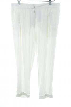 Beate Heymann Pantalone jersey bianco sporco elegante