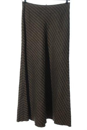 Beate Heymann Streetcouture Rok met hoge taille bruin volledige print