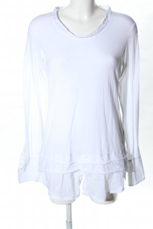 Beate Heymann Streetcouture Long Blouse white casual look