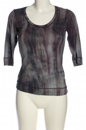 Beate Heymann Streetcouture Longsleeve black-white abstract pattern casual look