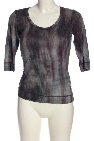 Beate Heymann Streetcouture Longesleeve zwart-wit abstract patroon