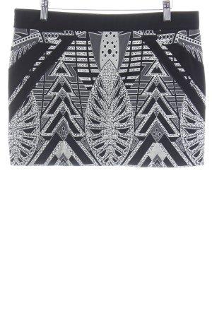 Beate Heymann Streetcouture Minirock abstraktes Muster Casual-Look