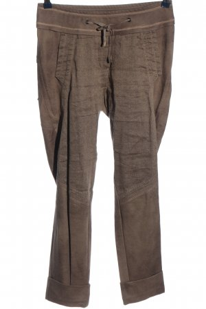 Beate Heymann Streetcouture Stoffen broek bruin casual uitstraling