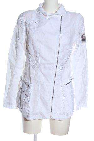 Beate Heymann Streetcouture Kurtka przejściowa biały W stylu casual