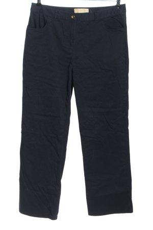 Beate Johnen Spodnie materiałowe czarny W stylu casual