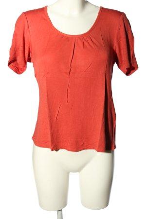 Beate Johnen T-shirt rouge style décontracté