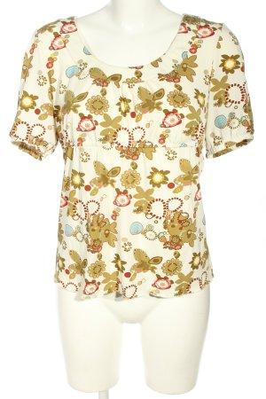 Beate Johnen Tunique-blouse imprimé allover style décontracté