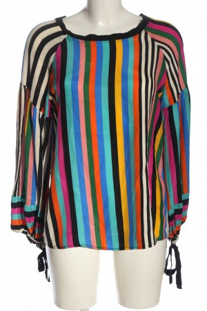 Beatrice.B Zijden blouse gestreept patroon zakelijke stijl