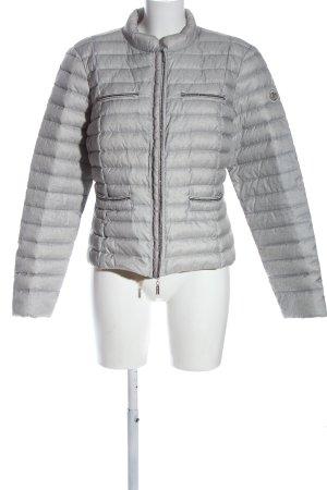 Beaumont Amsterdam Veste matelassée gris clair motif de courtepointe