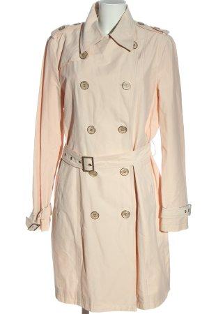 Beaumont Amsterdam Manteau mi-saison blanc cassé style décontracté