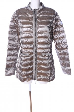 Beaumont Steppjacke hellgrau Steppmuster Casual-Look