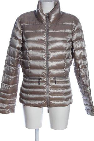 Beaumont Pikowana kurtka srebrny Pikowany wzór W stylu casual
