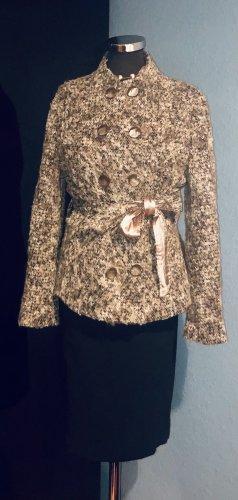 per una by Marks & Spencer Podwójna kurtka jasnobeżowy-beżowy