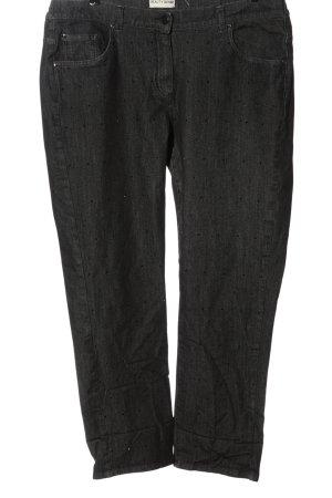 Beauty Denim Straight-Leg Jeans