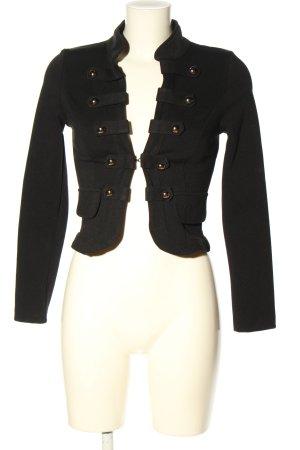 beauty fashion Krótka kurtka czarny W stylu casual