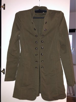 beauty fashion Lange blazer khaki