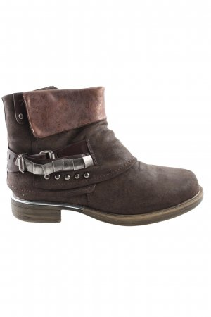 Beauty Girl's Ankle Boots brown casual look