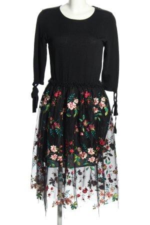 Beauty Women Langarmkleid schwarz Elegant