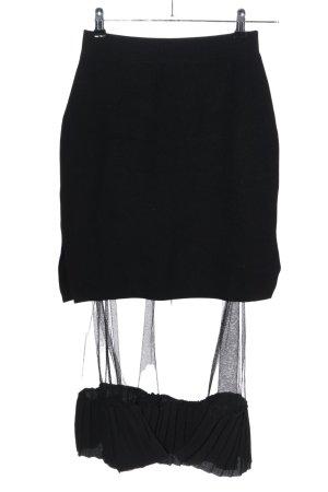 Beauty Women Gebreide rok zwart casual uitstraling