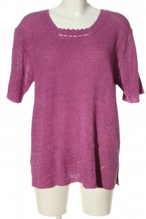 Beauty Women Knitted Jumper pink casual look