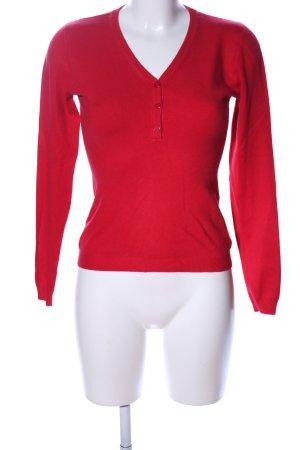 Beauty Women Bluza dresowa czerwony W stylu casual