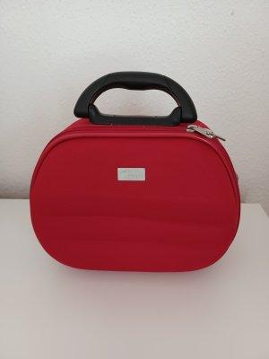 Cosmeticabox rood-zwart