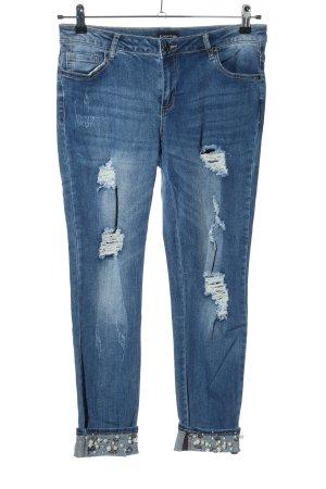 bebe 7/8-jeans blauw casual uitstraling