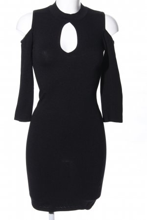 bebe Abito cut out nero elegante