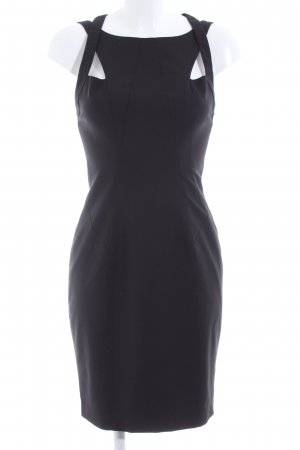 bebe Cut-Out-Kleid schwarz Business-Look