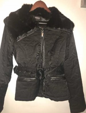 Bebe Damen Winter Jacke Schwarz Damen Large