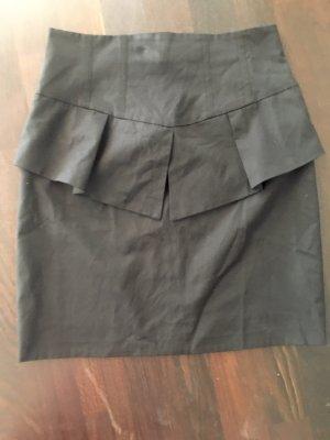 bebe High Waist Skirt black