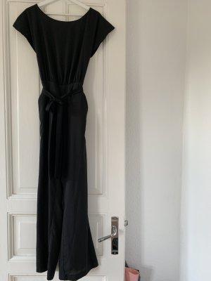 Bebe Jumpsuit Playsuit in Schwarz XXS Anzug mit Cut Outs 34