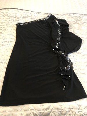 bebe Eénschouderjurk zwart