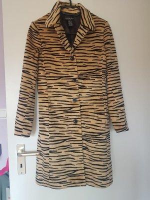 BEBE leichter Mantel mit Animalprint  36 oder schlanke Gr. 38