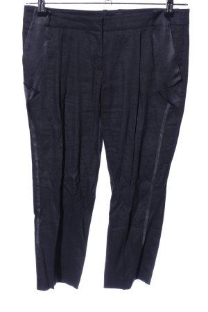 bebe Pantalone di lino nero stile casual