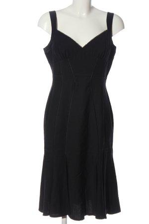 bebe Midi-jurk zwart zakelijke stijl