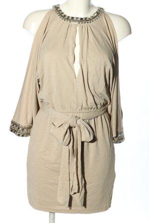 bebe Mini-jurk wolwit casual uitstraling