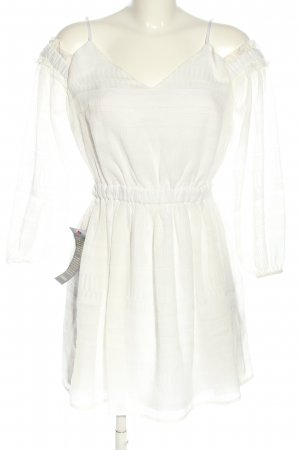 bebe Mini-jurk wit casual uitstraling