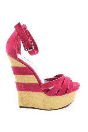 bebe Platform Sandals pink elegant